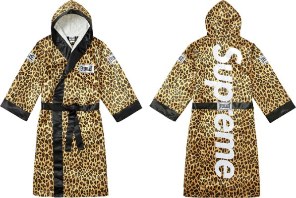 Supreme Everlast Satin Hooded Boxing Robe