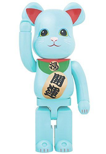 MEDICOM Skytree 2017 Bearbrick Lucky Cat GID 1000%
