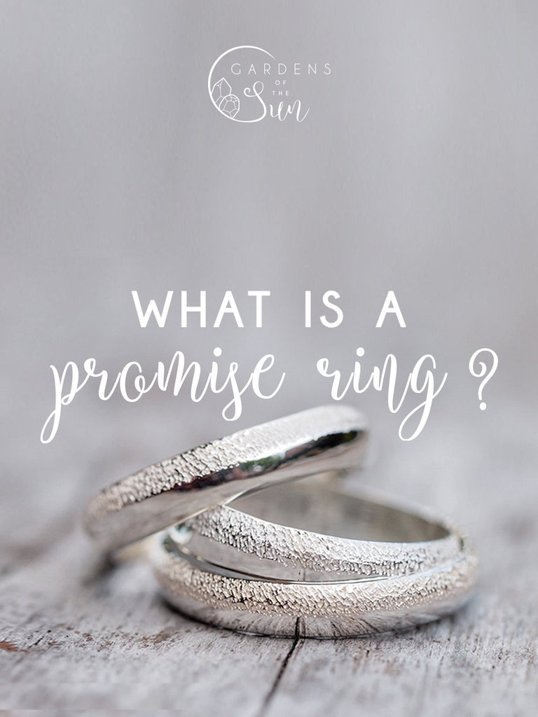 what s a promise ring and how to wear one gardens of