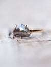 AA Ferris Salt and Pepper Diamond Engagement Ring | Build Your Own - Gardens of the Sun Jewelry