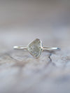 AA Flawed Diamond Slice Ring - Gardens of the Sun Jewelry