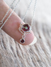 AA Garnet Necklace - Gardens of the Sun Jewelry