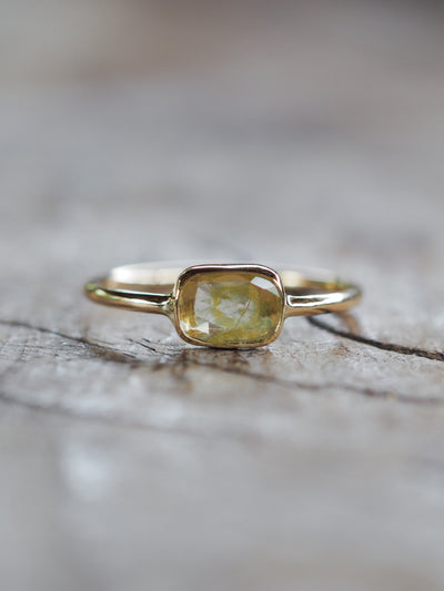 Yellow Diamond Ring | Build Your Own