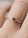 AA CHECK STOCK Spinel Star Ring - Gardens of the Sun Jewelry