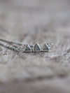 AA Mountain Diamond Slice Necklace - Gardens of the Sun Jewelry