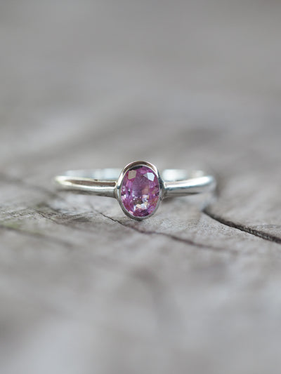 Embrace Pink Sapphire Ring