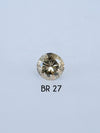 Custom Brilliant Cut Round Diamond Ring - Gardens of the Sun Jewelry