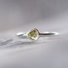 Tropical Delight Yellow Diamond Slice Ring - Gardens of the Sun Jewelry