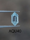 Custom Aquamarine Ring