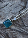 Moonstone and Fluorite Necklace