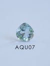 AA Custom Aquamarine Ring - Gardens of the Sun Jewelry