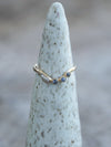 Ocean Diamond Ring Set in Eco Gold