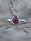 Man In the Moon Garnet Ring