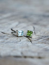 AA Single Gem Earrings - Gardens of the Sun Jewelry
