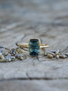 AA Fantasy Tourmaline Ring in Eco Gold - Gardens of the Sun Jewelry