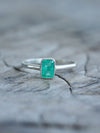Embrace Emerald Ring