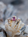 Montana Garnet and Spinel Ring