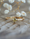 Mini Geo Borneo Diamond Ring in Eco Gold