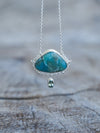 Larimar and Tourmaline Necklace