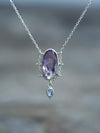 Amethyst and Tanzanite Necklace