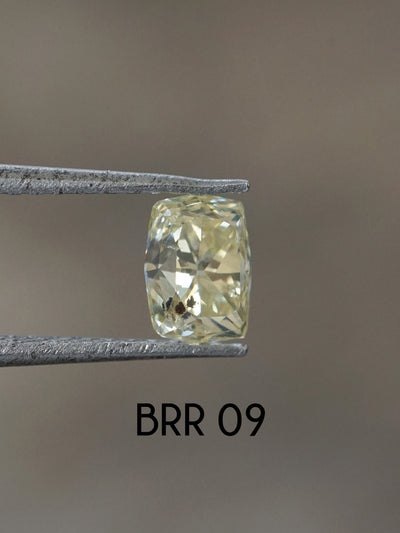 AA MERI CHECK Custom Oval, Radiant and Rectangular Brilliant Cut Diamond Ring - Gardens of the Sun Jewelry