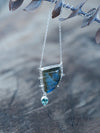 Labradorite and Tourmaline Necklace