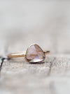 Pink Tourmaline Ring in Rose Gold - Gardens of the Sun Jewelry
