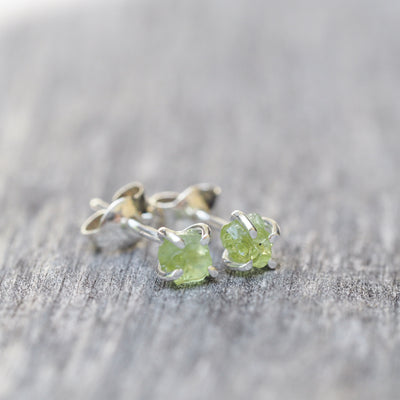 Arizona Peridot Earrings - Gardens of the Sun Jewelry