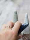 Inside Aquamarine Ring - Gardens of the Sun Jewelry