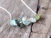 Green Multistone Necklace - Gardens of the Sun Jewelry