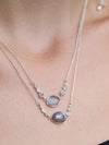 New Grounds // Labradorite & Moonstone Necklace - Gardens of the Sun Jewelry