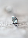 Aquamarine Single Earring - Gardens of the Sun Jewelry
