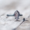 Blood Quartz Ring - Gardens of the Sun Jewelry