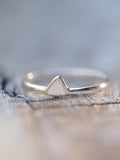 Mini Diamond Slice Ring - Gardens of the Sun Jewelry