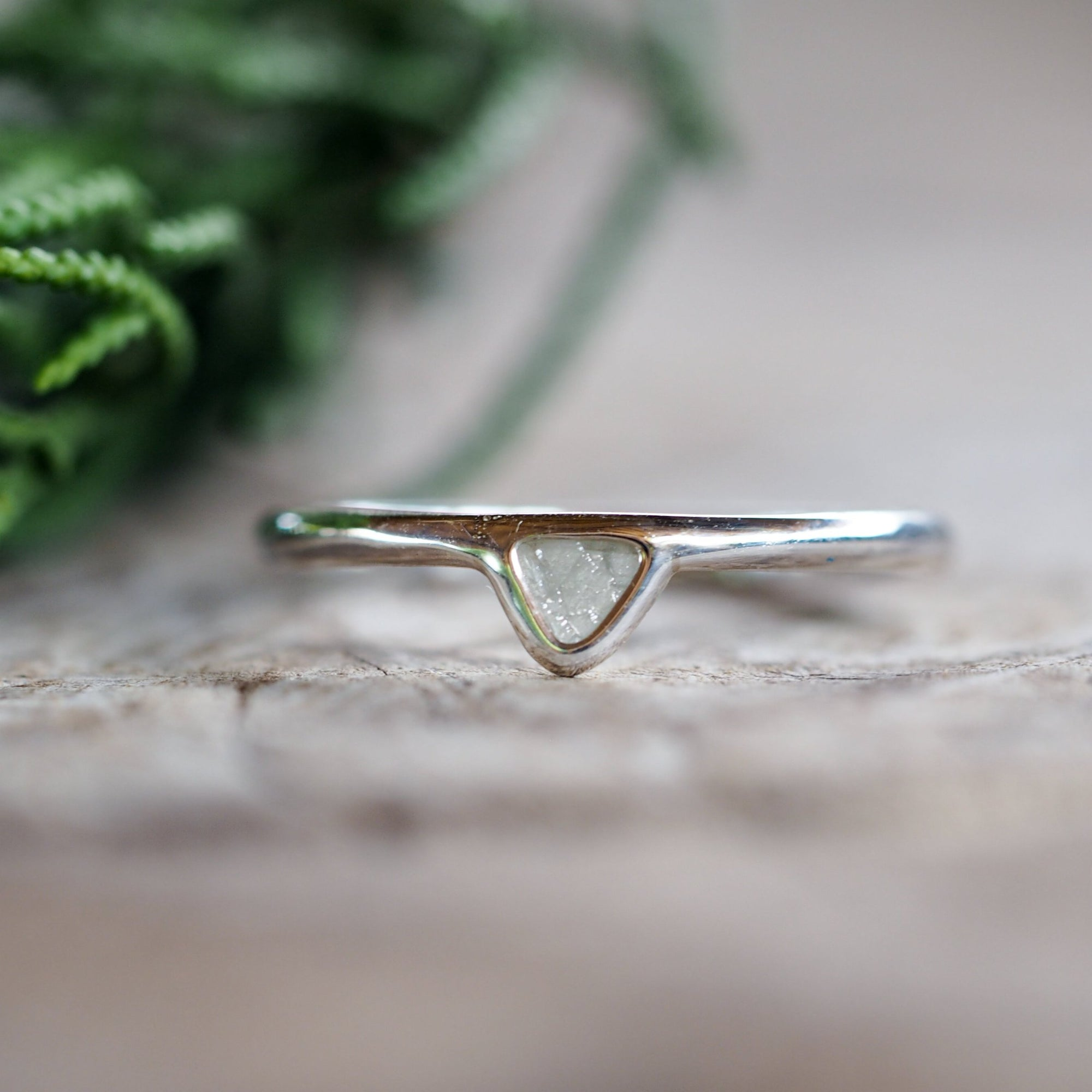 Mini Diamond Slice Ring