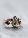 Diamond Angel Wings Ring Set in Rose Gold - Gardens of the Sun Jewelry