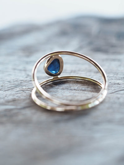 Vita Sapphire Slice Ring | Build Your Own