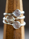Moonstone Smile Ring - Gardens of the Sun Jewelry