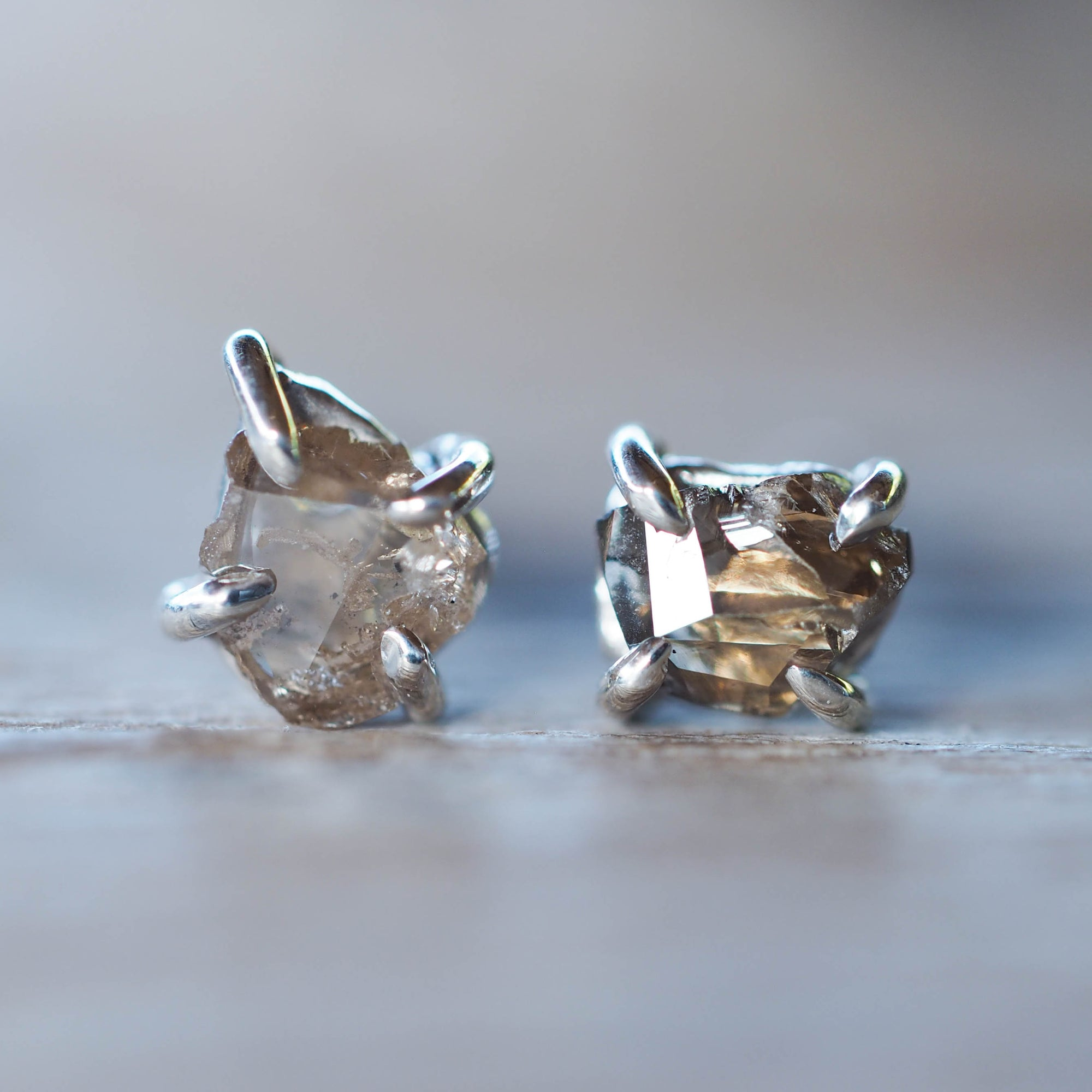 Borneo Diamond Earrings