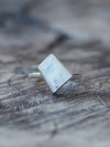 Geometric Moonstone Ring