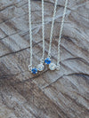 Moonstone and Sapphire Necklace