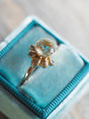 Mermaid Aquamarine Ring in Rose Gold - Gardens of the Sun Jewelry