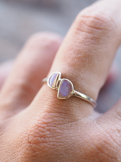 Moonslide Opal Ring - Gardens of the Sun Jewelry