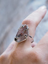 Banded Amethyst Ring - Gardens of the Sun Jewelry
