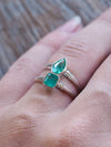 Embrace Emerald Ring - Gardens of the Sun Jewelry