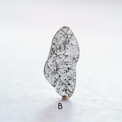 Grey Diamond Slice Ring | Build Your Own - Gardens of the Sun Jewelry