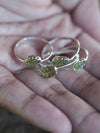Peridot Leaf Ring