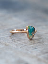 AA ATRI Crystal Opal Peacock and Diamond Ring - Gardens of the Sun Jewelry