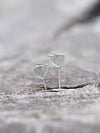 Green Tourmaline Wing Earrings - Gardens of the Sun Jewelry