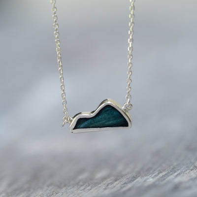 Tourmaline Mountain Necklace - Gardens of the Sun Jewelry